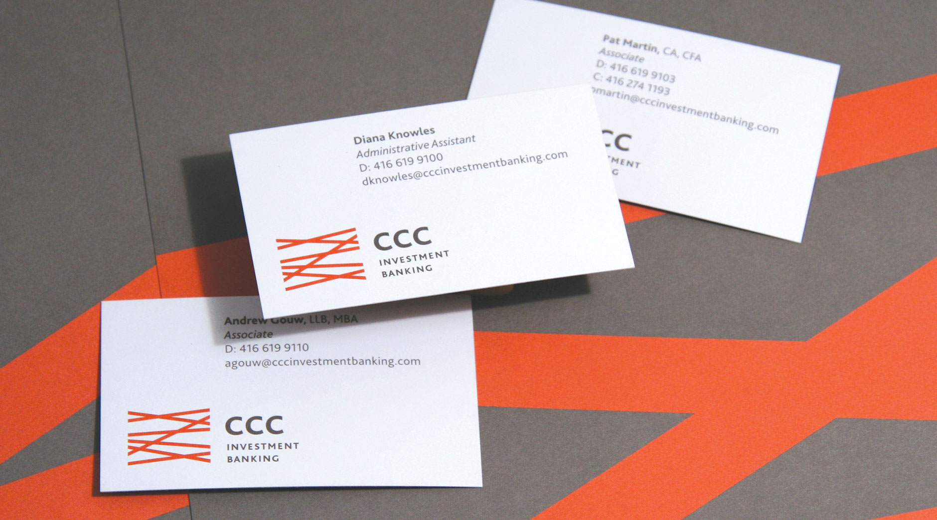Amazing bank business card images business card ideas etadamfo ccc branding corporate communications and web design colourmoves Choice Image