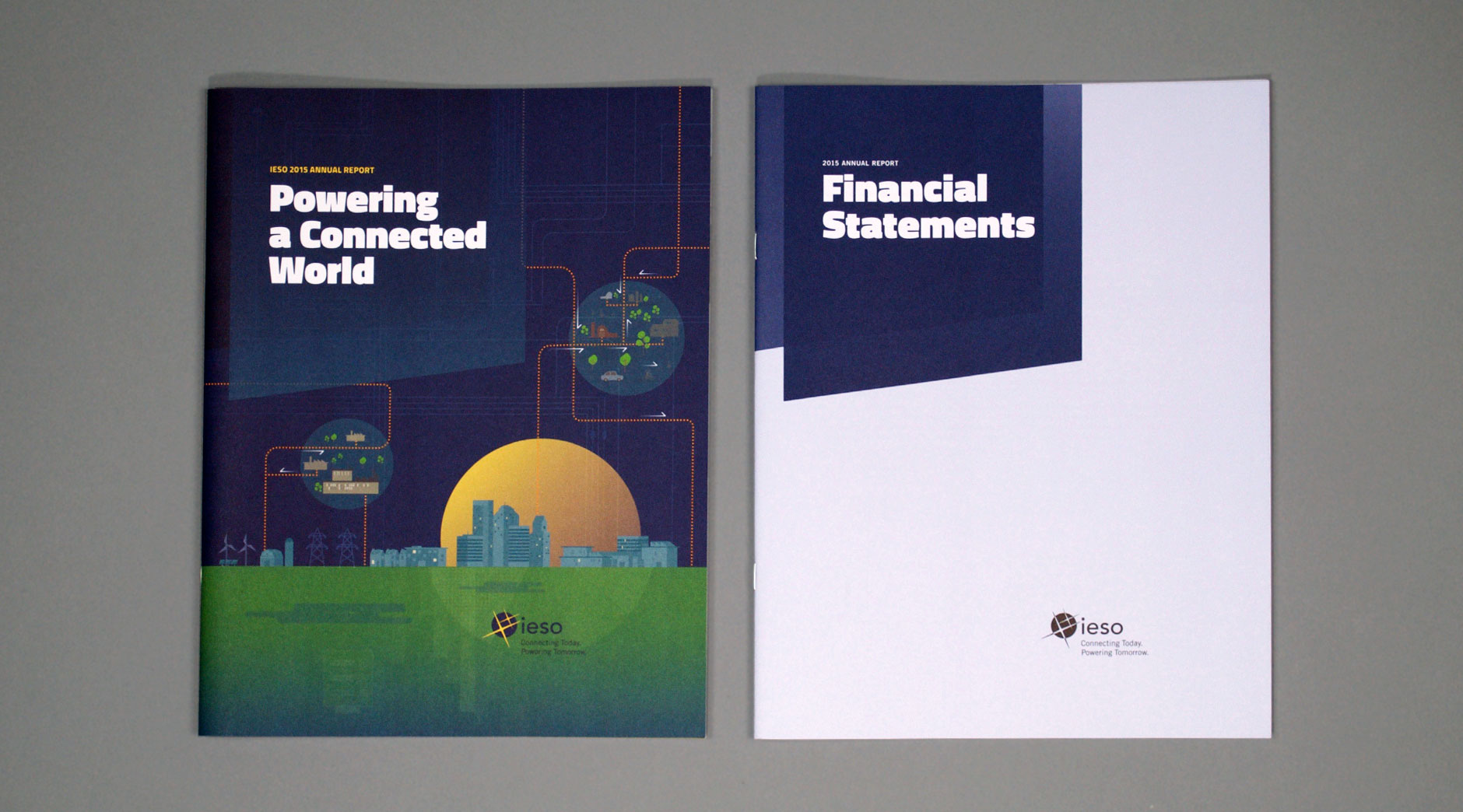 IESO Annual Report cover